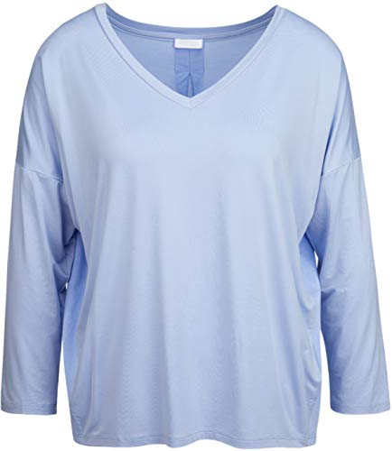 Drykorn Damen Bluse aus Cupro in Hellblau S