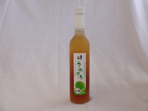 完熟梅の味わいと日本酒のうまみをたっぷりの梅リキュール うめとろ 500ml