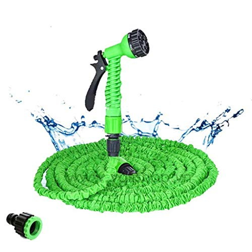 25-200FT Expandable Magic Flexible Garden Water Hose, For Auto Slangen Pijp Aan Watering Met Spray Telescopische Waterpistool Garden Haspels (Size : 125ft)
