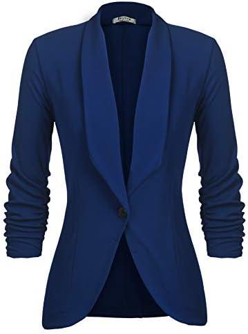 Royal blue suit for ladies _image0