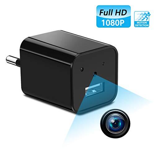 Caméra Espion Caméscope Caché Mini Caméra sans Fil Caméra de Surveillance Intérieure Détection de Mouvement IP Caméra de Sécurité Maison pour Domicile Bureau Chambre