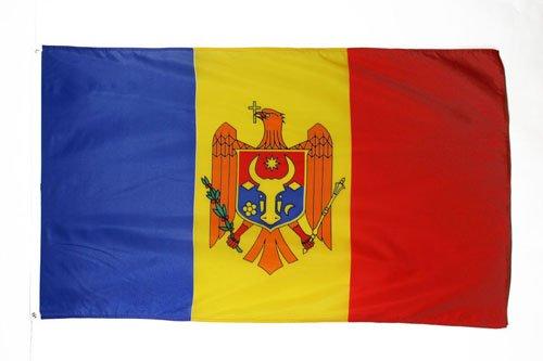AZ FLAG Flagge MOLDAWIEN 150x90cm - MOLDAUISCHE Fahne 90 x 150 cm - flaggen Top Qualität
