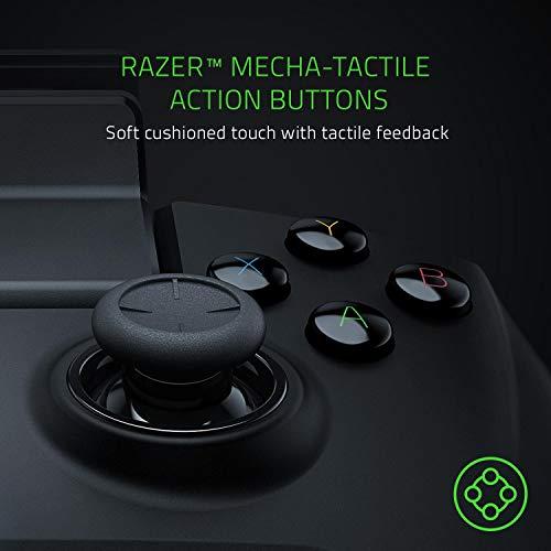 Razer Raiju Mobile: Mobiler Gaming-Controller für Android (Ergonomisches Layout mit Multifunktionstasten, Hair-Trigger-Modus, Verstellbare Smartphone-Halterung, Konfiguration über mobile App) - 4