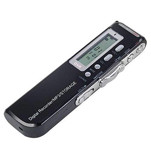 Gravador De Voz Digital E Music Player Grava Até 576 Horas 8 Gb