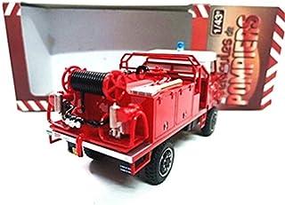 N Coche de Juguete 1:43Camión de Bomberos aleación Modelo Coche Metal Fundido a presión Regalo de cumpleaños para niños niños