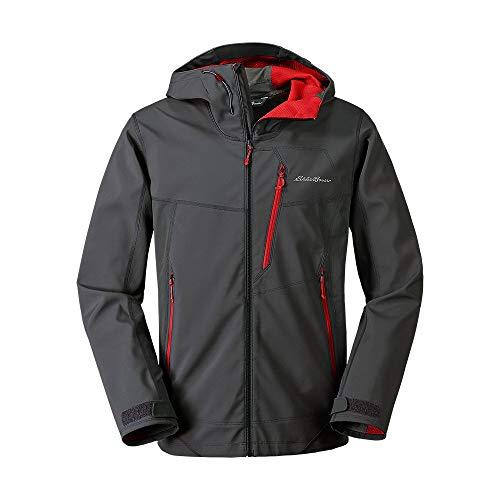 Eddie Bauer Men's Sandstone Shield Hooded Jacket, Dk Smoke Regular M