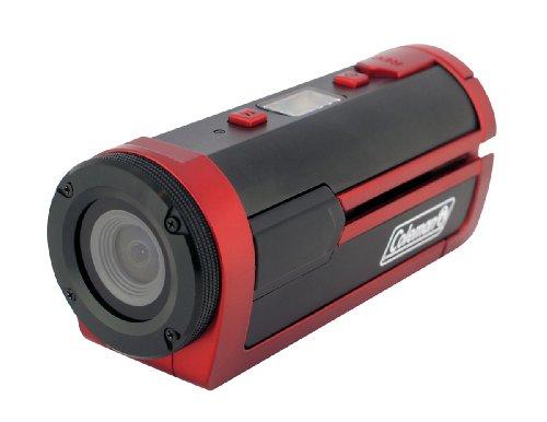 Coleman CSXSWP-R Xtreme Sports Waterproof 1080p HD Digital Helmet Wearable Video Camcorder