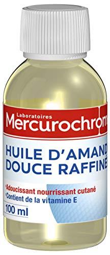 MERCUROCHROME Huile d'Amande Douce Rafinée 100 ml