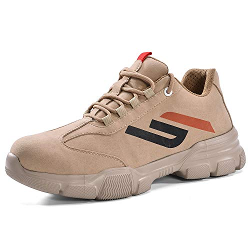 SAFETOE Zapatos de Seguridad Hombres - L7388 Calzado Seguridad con Puntera de Fibra de Vidrio Ultra-Ligeras 🔥