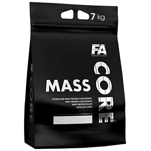 Fitness Authority MassCore Paquete de 1 x 7000g - Gainer - Proteína en Polvo - Masa - Suero de Leche con Carbohidratos - Músculo - Pre-Entrenamiento - FA Core Mass Gain (White Chocolate Coconut)