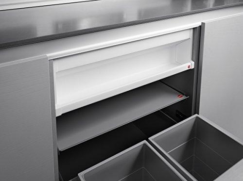 Hailo Deposito Küchen-Abfalleimer, Weiß, One Size