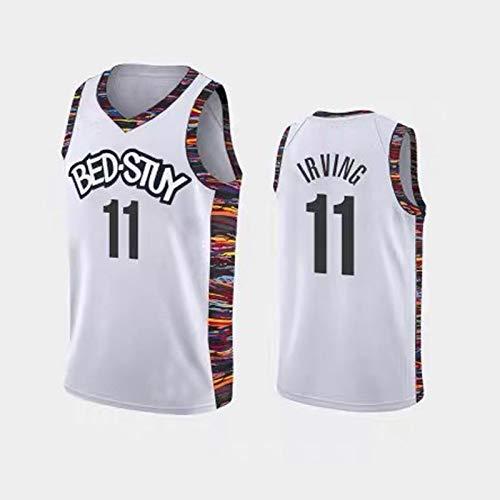 YGXS Camisetas De Baloncesto De La NBA, Adecuadas para Las Redes De La NBA # 11 Kelly Irving, Resistentes Al Desgaste Y Transpirables, Malla Bordada, Camisetas Deportivas De Baloncesto,D,XXL