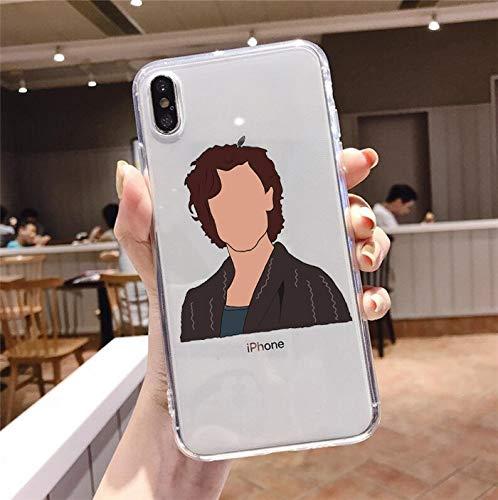 HNZZ Tmrtcgy Shawn Mendes Wonder Wonder Phone Case para iPhone 12 Mini XR 7 Plus XS Funda de teléfono para iPhone 11 Pro 8 Plus XS MAX Funda (Color : TMR-25448, Size : Iphone7Plus 8Plus)