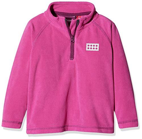 Lego Wear Duplo Unisex Lwsirius 701-Fleece Pullover Pull, Rose (Dark Pink 496), 86 Mixte bébé