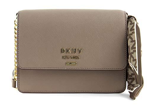 DKNY Liza Shoulder Flap S/M Soft Clay