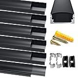 Chesbung LED Aluminium Profil, 6X1m LED Aluminium...