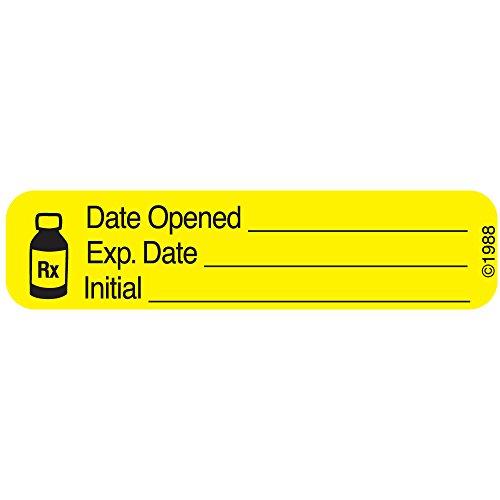 PHARMEX 1-369 Permanent Paper Label,