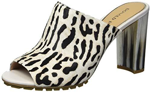 Donald J Pliner Women's Slide Sandal, Leopard, 10