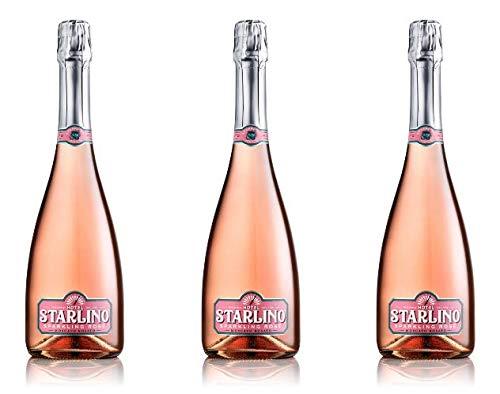 Starlino Sparkling Moscato 3x 0,75l Set - fruchtig-süßer Sekt für den perfekten Starlino Aperitif Spritz Drink