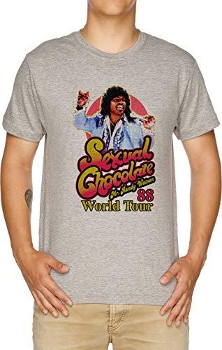 Vendax Randy Watson World Tour 88-80s Camiseta Hombre Gris