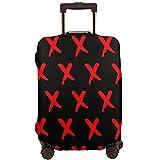 DJNGN Funda de equipaje de viaje con símbolo X rojo, protector de maleta de viaje,...