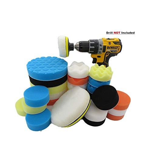 3/6 / Pulgadas 29Pcs / Set Kit de almohadillas de pulido