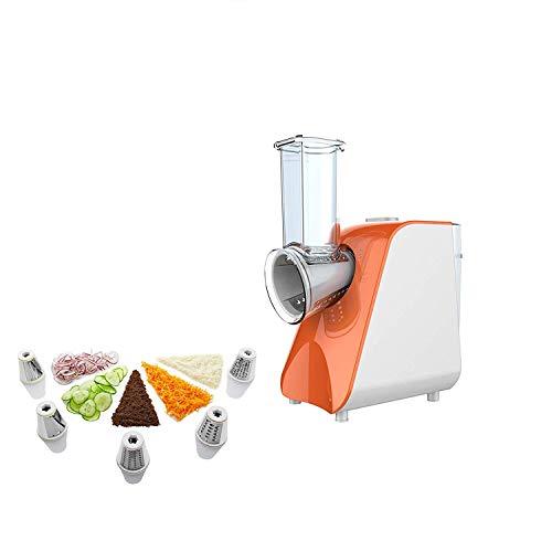 Multifunktions Multi Reibe Gemüseschneider Mit 5 Kegelklingen Für Karotten, Käse, Gurken, Zwiebeln, Tomaten Und Zucchini Küchenmaschine Küche Fruit Electric Shredder 150 Watt