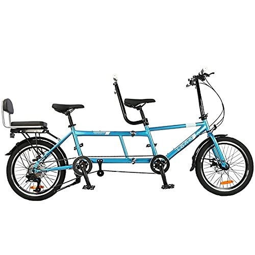 Bicicleta Tándem, Bicicleta Unisex Para Adultos, Bicicleta Tándem Urbana, Bicicleta Plegable, 7 Velocidades, Entretenimiento En Pareja Para Padres E Hijos, Universal Wayfarer Mountain Riding-b