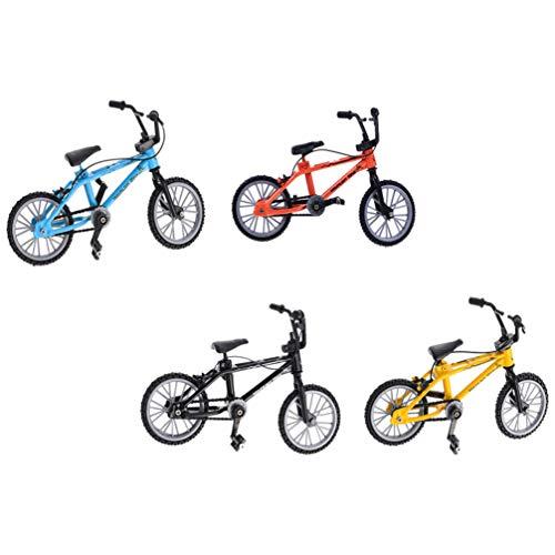 Garneck - Juego de 4 piezas para bicicleta BMX
