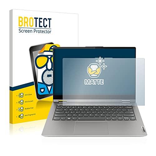 BROTECT Entspiegelungs-Schutzfolie kompatibel mit Lenovo ThinkBook 14s Yoga Bildschirmschutz-Folie Matt, Anti-Reflex, Anti-Fingerprint