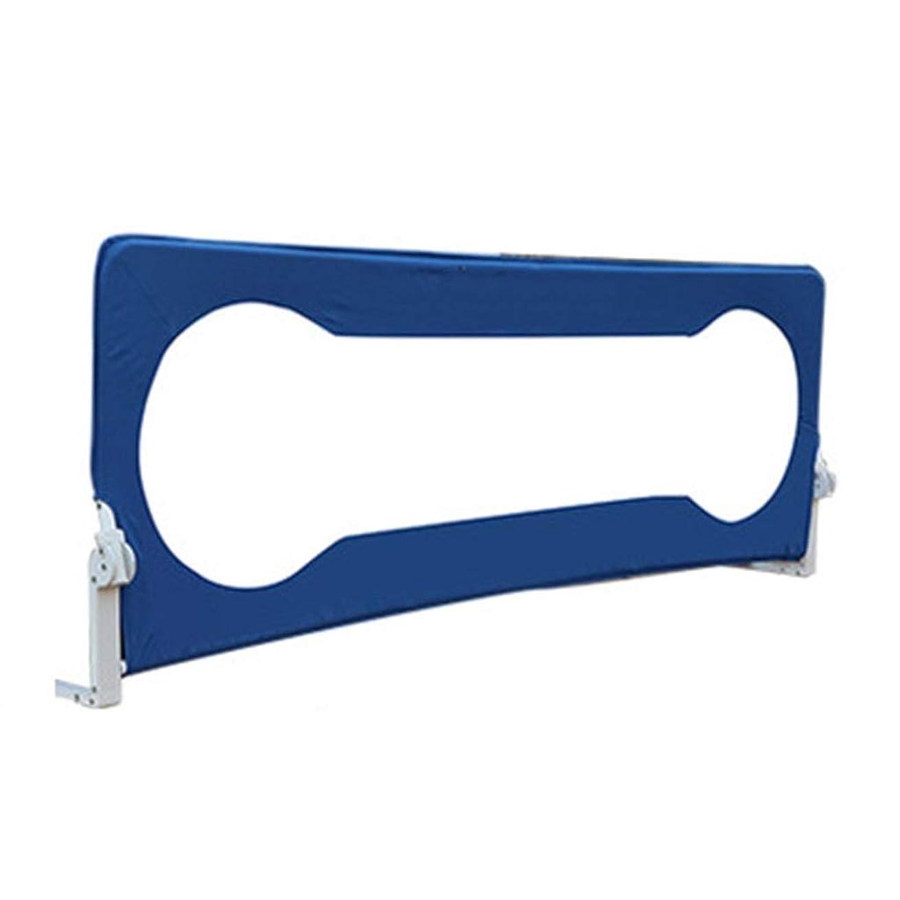 WCX のベッドガードのためのベッドレールガードベビーベッドレールの安全レールキッズベッドレール 30°チルト垂直 安全な睡眠を守る,ダブルベッド用 (Color : Blue, Size : 0.68x1.8m)