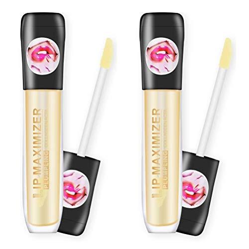 Instant Kiss Lips Plumper, Extreme Lip Plumper, Lip Plumper Gloss, Lippenpflegeserum, Lippenmaske zur Erhöhung der Lippenelastizität (2PCS)