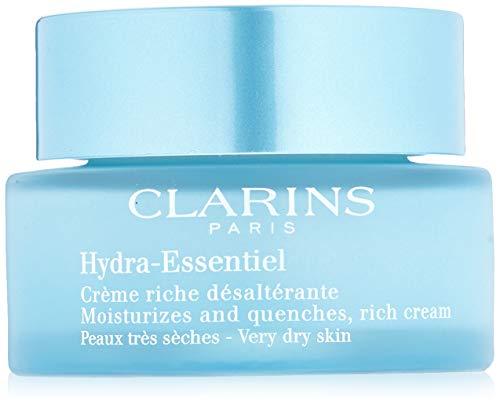 Clarins Hydra-Essentiel Crème riche désaltérante - Peaux très sèches Gesichtscreme, 50 ml