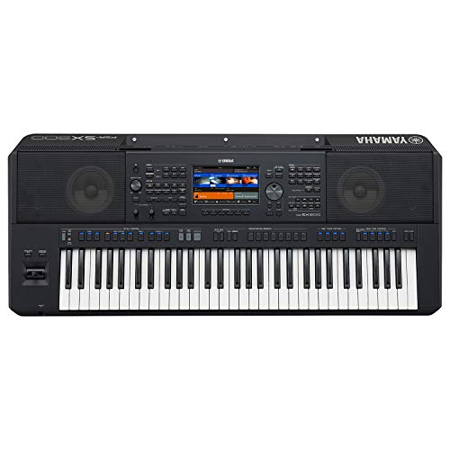 Yamaha PSRSX900 Arranger Workstation keyboard