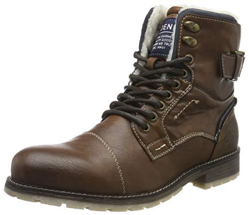 TOM TAILOR Herren 7985903 Klassische Stiefel, Braun Cognac 00205, 44 EU