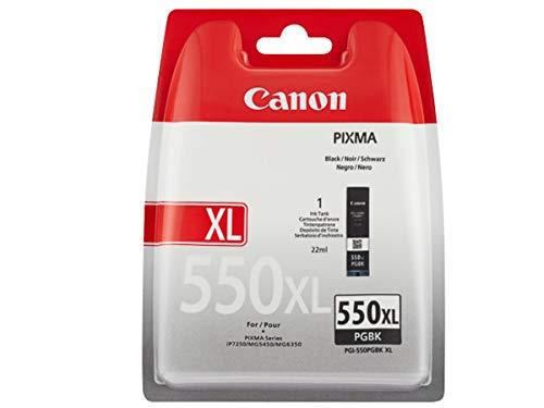 CANON PGI-550XL PGBK Tinte Pigment schwarz hohe Kapazität 1-pack blister ohne Alarm
