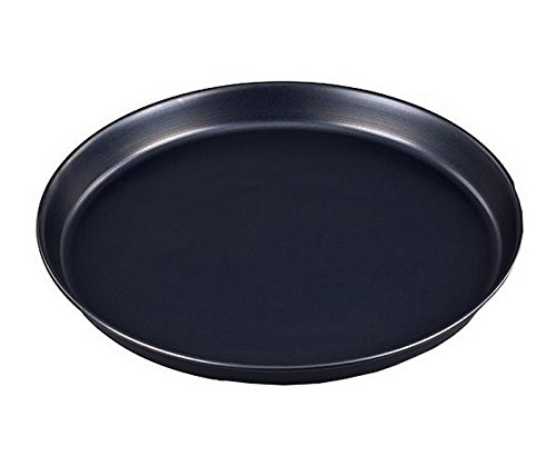 GRÄWE Pizzablech Backblech rund Ø 32 cm (innen 31 cm) mit Keramikbeschichtung