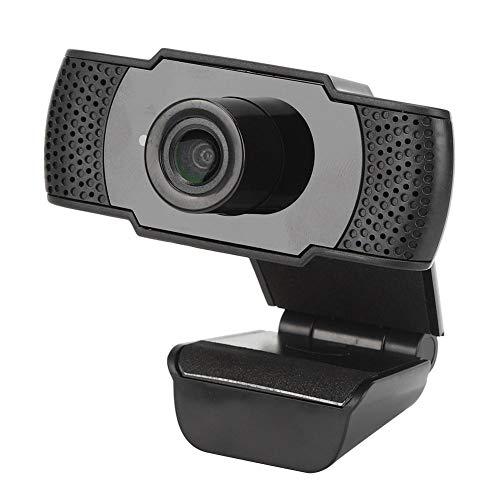 AMONIDA Computer Camera, Pir Computer Parts, 1080P Broadcast 2‑way Live Broadcast for Online Classes