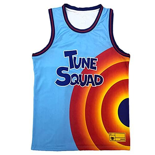 Xin Hai Yuan Camisetas de baloncesto para hombre Space Jam 6# Jerseys Tune Squad Camiseta sin mangas transpirable de secado rápido, talla XXL