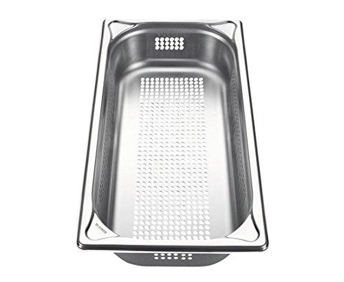 Blanco Gastronorm-Behälter, Edelstahl, GN-P 1/3-65, gelocht, Inhalt 2,5 Liter