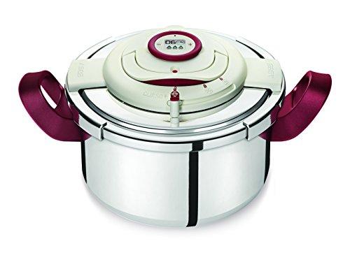 Seb Clipso P4400600 Pressure Cooker Programmeerbare timer nauwkeurigheid zonder inspanning geopend Inox 4,5 l