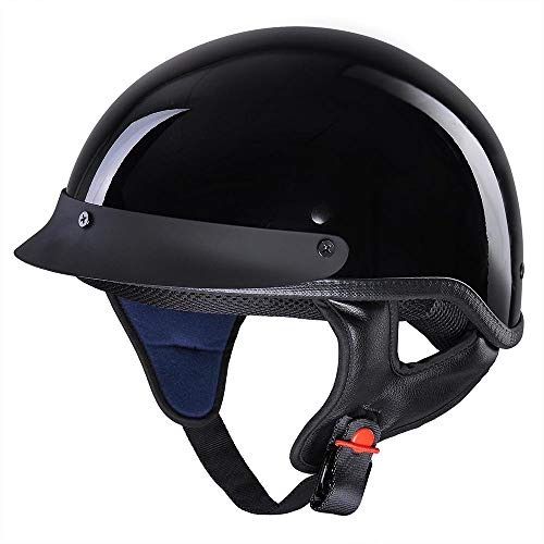 AHR Run-C Motorcycle Half Helmet
