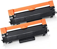 (CHIP INCLUDED) 2 High Yield Inkfirst Toner Cartridges TN-760 TN760 Compatible Remanufactured for Brother TN-760 Black...