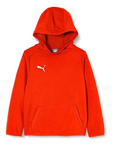 Puma Liga Casuals Hoody Jr Sudadera, Unisex niños, Rojo (Red/White), 116