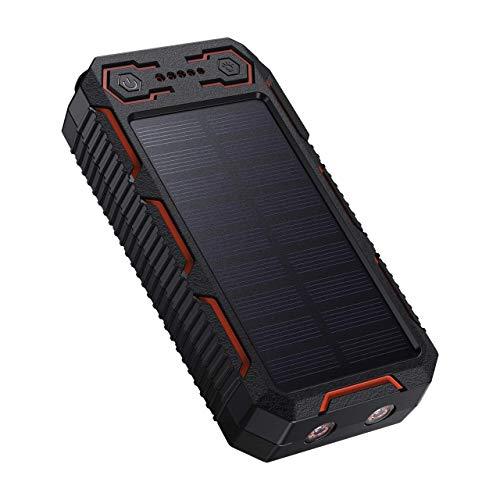 Powerbank Solare 26800mAh Caricatore Portatile di Grande Capacità