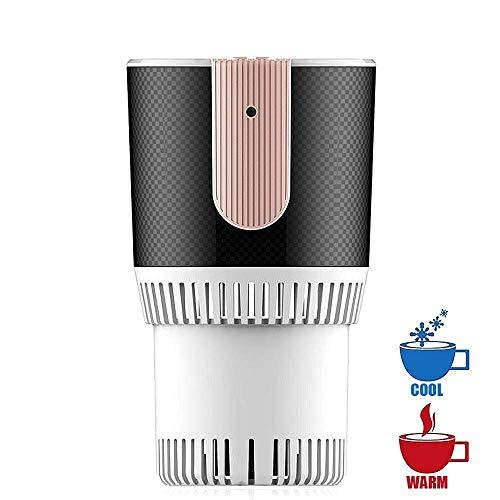 Snelle autokoelbox & warmtebeker, mini-desktop-snelkoelbeker energiezuinige elektronische drank-/bier-/wijnkoeler, kopjes-ijsmachine voor het invriezen van water (kleur: wit)
