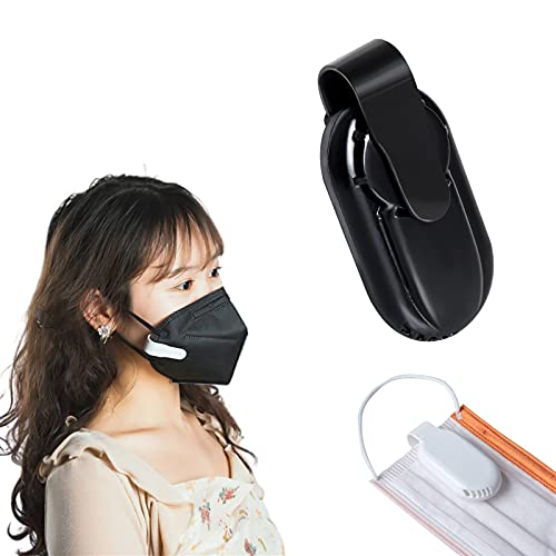 FLTY Breathe Cooler Wearable Air Purifier,Purificatore d'Aria Portatile, Mini Purificatore d'Aria Ozono,Deodorante per Ionizzatore di Ozono Macchina per Casa, Cucine, Auto, Ufficio Black