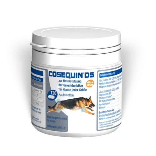 Cosequin DS HA MSM 120 Schmackhafte Tabletten Hund