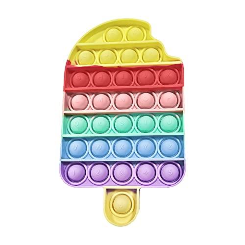 EUROXANTY Juguete sensorial Pop Burbujas   Antiestrés   Juego Entretenimiento   Lavable   Motricidad Fina   Polo