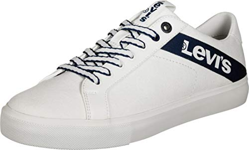 Levi's Woodward L, Zapatillas Hombre, Blanco (R White 51), 42 EU